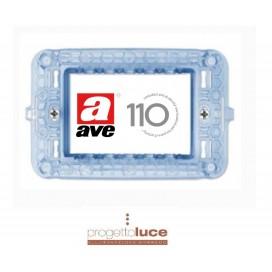AVE 44A03 SUPPORTO 3 MODULI DOMUS SITEMA 44