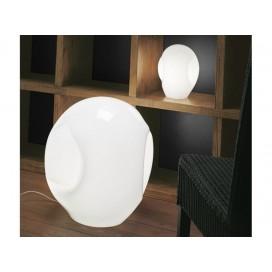 Vetreria Vistosi .Lampada da tavolo Munega P E14 bianco