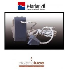 MARLANVIL 7707.1 PULSANTE A TIRANTE 16 A ONDA GRIGIA COMPATIBILE BTICINO