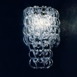 Vetreria Vistosi Minigiogali lampada da parete in cristallo G9