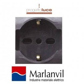 MARLANVIL 7748.I PRESA SCHUKO UNIV. 10/16A COMPATIBILE BTICINO LIVING