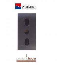 MARLANVIL 7779 PREBA BIVALENTE 10/16 ONDA COMPATIBILE BTICINO LIVING