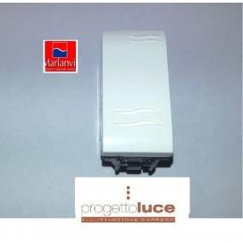 MARLANVIL 7602.1 PULSANTE ONDA COMPATIBILE BTICINO LIVING LIGHT BIANCA
