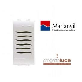 MARLANVIL 7693.220 SUONERIA 230V ONDA COMPATIBILE BTICINO LIVING LIGHT BIANCA