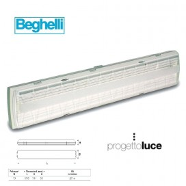 BEGHELLI 8595 LAMPADA EMERGENZA 5H 18W T5 IP65