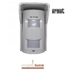 URMET 1033/136 Rilevatore Doppia Tecnologia Per Esterno Antimasking E Pet Immunity