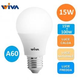 LAMPADINA LED Bulbo GOCCIA 15W A60 E27 WIVA