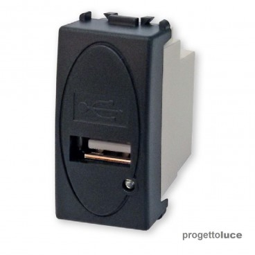 MASTER 31213 SERIE MODO PRESA CARICABATTERIA USB 5V 1A GRIGIO