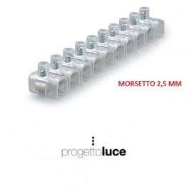 MORSETTO ELETTRICO ISOLATO CAPPUCCIO FORBOX 2,5mm² MATERIALE ELETTRICO