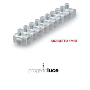 MORSETTO ELETTRICO ISOLATO CAPPUCCIO FORBOX 4mm² MATERIALE ELETTRICO
