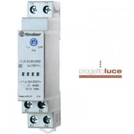 FINDER 11318230 Interruttore Crepuscolare Attacco DIN 1 Modulo 230v