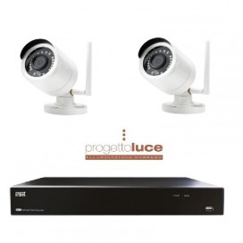 KIT 1098/800 VIDEOSORVEGLIANZA TVCC Urmet WIFI IP1080 P 4 Canali