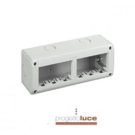 BTICONO 25406 CUSTODIA IP40 COMPOSTA DA BASE E COPERCHIO - 3+3 moduli Màtix