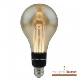 LAMPADA LED FILAMENTO VINTAGE V-TAC 5W E27 LUCE CALDA LAMPADINA AMBRA