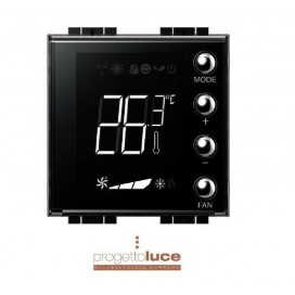 BTICINO LIVINGLIGHT MYHOME TERMOSTATO CON DISPLAY 2MODULI OD BUS LN4691