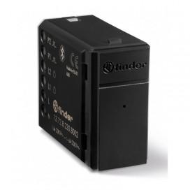Relè multifunzione Finder Yesly Bluetooth 2 Canali BLE Nero 13728230B002