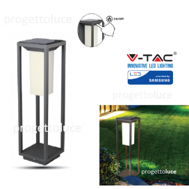 V-TAC VT-66 LAMPADA LED DA TERRA 2W CON PANNELLO SOLARE E PICCHETTO CHIP SAMSUNG