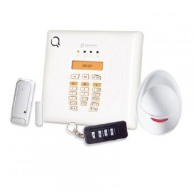 Kit Allarme Bentel Wireless via Radio con centrale 30 zone BW30-K