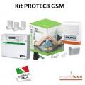 HILTRON KPROTEC8GSM KIT ANTIFURTO 8 ZONE CON COMBINATORE GSM