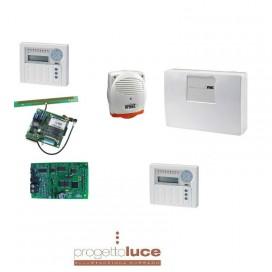 URMET 1067/915 KIT ANTIFURTO CON CENTRALE 1067 + GSM E ACCESSORI