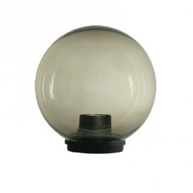 Lampione globo illuminazione giardino esterno SFERA 300 mm fume
