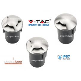 FARO IP67 V-TAC VT7678 SEGNAPASSO CARRABILE CALPESTABILE PER LAMPADA MR16 GU5,3