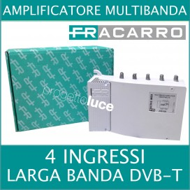 FRACARRO 235108 CENTRALINO MBX5740LTE AMPLIFICATORE E MISCELATORE DVB-T 4in40dB/35-36 LTE