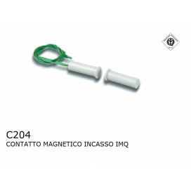 HILTRON C204 CONTATTO MAGNETICO SENSORE REED INCASSO PER PORTE E FINESTRE