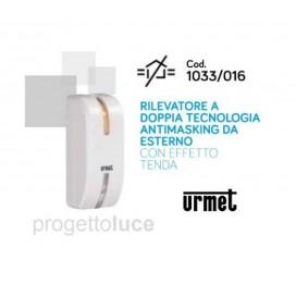 URMET 1033/016 Sensore di movimento infrarossi esterno doppia tecnologia a tenda