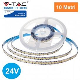 V-Tac Pro Striscia LED 2835 Monocolore 2400 LED in Bobina da 10 metri