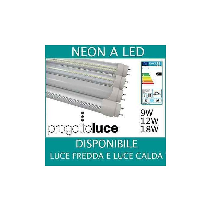 Incroyable NEON LED TUBO LED ALTA POTENZA SOLAR W WATT 60 90 120 150 CM T8 TH-71