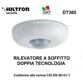 HILTRON DT360 RILEVATORE A DOPPIA TECNOLOGIA DA SOFFITTO 360 GRADI PIR