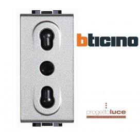 BTICINO NT4180 LIVINGLIGHT TECH PRESA BIPASSO