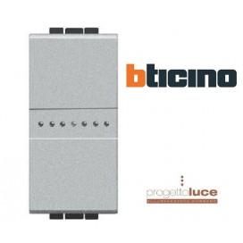 BTICINO NT4055N LivingLight Pulsante Assiale 16A 1P Tech NT 1 MODULO