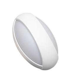 Lampada LED 12w Applique da Parete OVALE per interni Luce Naturale 4200K