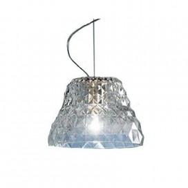 Lampada a sospensione della Leucos modello Atelier in cristallo