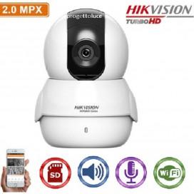HIKVISION HWC-P120-D/W TELECAMERA IP CAM WIFI 1080P 2MP 2.0MM AUDIO SLOT SD IP20