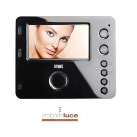 Videocitofono Urmet Mìro 2 Voice monitor 4,3 Vivavoce colore Nero 1750/15 con YOKIS RADIO INTEGRATO