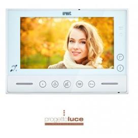 "URMET 1719/1 Videocitofono Urmet v Modo 7"" Vivavoce soft touch Sistema 2 Voice"