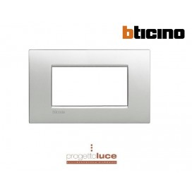 BTICINO LNC4804TE LIVINGLIGHT PLACCA AIR 4 MODULI