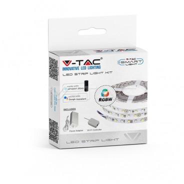 V-TAC STRISCIA LED SMART LIGHT WI-FI 10W 60 LED/METRO RGB+W DIMMERABILE