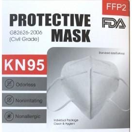 MASCHERA MASCHERINA PROTETTIVA FACCIALE KN95-FFP2