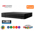 HIKVISION HWD-6104MH-G2 DVR 5IN1 AHD CVI TVI CVBS IP 4 CANALI UTC 4 MP TURBO HD