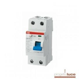 ABB Salvavita differenziale puro FH202 AC 25A 30MA FH20225 EX F427800