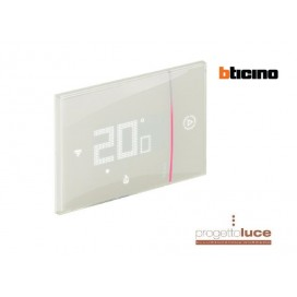 BTICINO XM8002 Termostato Connesso Bticino WIFI SMARTHER 2 ad incasso Sabbia 230V