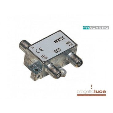 FRACARRO 226400 MISCELATORE TV SAT MXST per antenne digitali e satellitari