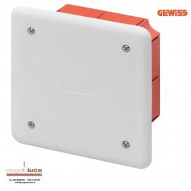 GEWISS GW48001 CASSETTA DERIVAZIONE INCASSO 92X92X45