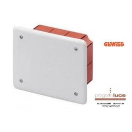 GEWISS GW48002 CASSETTA DERIVAZIONE INCASSO 118X96X50