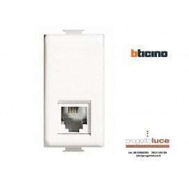BTICINO AM5958/11N SERIE MATIX PRESA TELEFONICA RJ11 originale