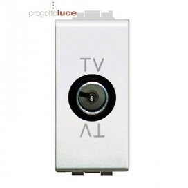 BTICINO LIVING LIGHT bianco presa TV derivata N4202D